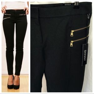 NWT | Express Zipper Skinny Pants
